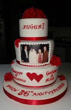 Torta Anniversario matrimonio cake