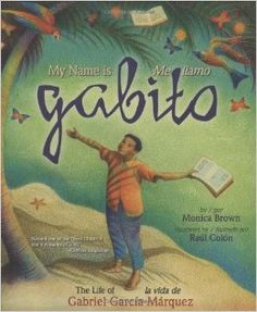 Can you imagine a shipwrecked sailor living on air and seaweed for eight days? Can you imagine a trail of yellow butterflies fluttering their wings to songs of love? Once, there was a little boy named Gabito who could. Gabriel Garcia Marquez is perhaps one of the most brilliant writers of our time. He is a tremendous figure, enormously talented, and unabashedly admired. This is his story, lovingly told, for children to enjoy. Using the imagery from his novels, Monica Brown traces the…