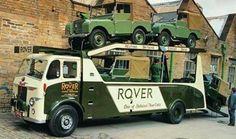 Leyland transporter for Land Rover
