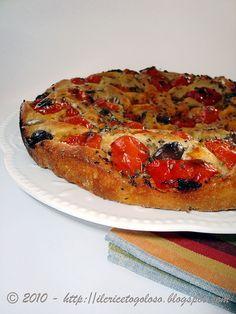 Focaccia Bimby I Love Food, Good Food, Yummy Food, Quiches, Pizza Recipes, Bread Recipes, Pizza Party, Finger Food, Vegetable Pizza