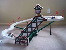 Christmas Village Ski Lift For Sale.50 Best Snow Village Images Christmas Villages Lemax
