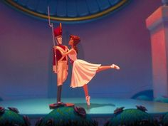 """""""Fantasia 2000""""'s rendition of """"The Steadfast Tin Soldier"""". I NEVER get tired of watching this part of the movie! So sweet!"""