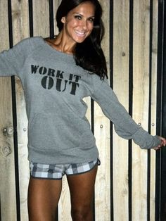 Work It Out  Off the Shoulder by FiredaughterClothing, $38.00