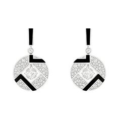 Chanel Revives Art Deco Glamour in Café Society Bubbles earrings