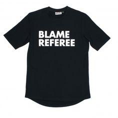 Blame Referee Shirt Black - BALR.
