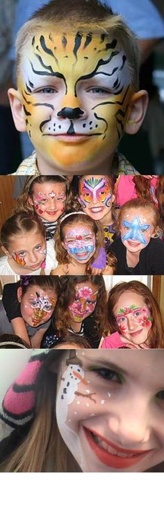 fantasy makeup kid´s face painting parties