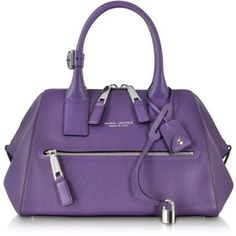 Marc Jacobs Small Textured Incognito Leather Handbag