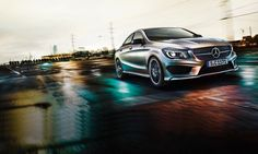 The first in a new class: the new Mercedes-Benz CLA four-door coupé.