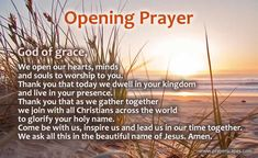 Short Opening Prayer for a Program, Meeting or Event Prayer For Work, Prayer For Church, Prayer For Today, Teacher Prayer, School Prayer, Morning Prayer For School, Morning Prayer Before Work, Morning Prayers, Simple Prayers