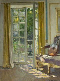 Scène d'intérieur, date unknown. Paul Jean Hughes 1891-1972 ...