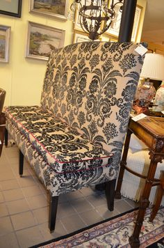 Superbe High Back, High Style In A Bench. High Back BenchConsignment  FurnitureConsignment ...