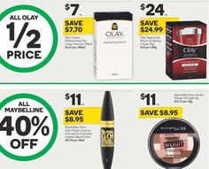 #halfprice on all Olay products at #woolworths and 40% off all Maybelline. #onsale until 24/5/16 #olay #regenerist #antiaging #skincare #maybelline #makeup #cosmetics #sale #woolies #may16 #savvysaver #smartshopper @olay @maybellineau @woolworths_au