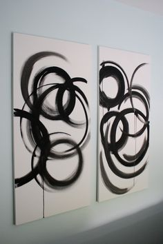 Maybe DIY some simple, abstract paintings?