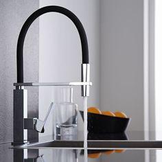 Hudson Reed Design Keukenmengkraan Met Flexibele Uitloop Zwart Chroom Kitchen Taps Ikea