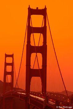 Golden Gate Bridge at Sunset...