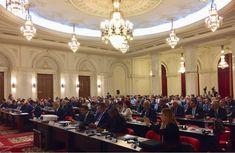 07.05.2018 - Ministrul Transporturilor, Lucian Șova, a deschis lucrările summitului privind securitatea cibernetică în aviația civilă, de la Palatul Parlamentului, organizat de ICAO (Organizația Internațională a Aviației Civile) Jewelry, Jewlery, Jewerly, Schmuck, Jewels, Jewelery, Fine Jewelry, Jewel, Jewelry Accessories