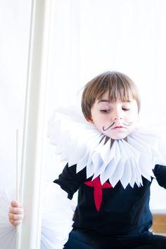 Disfraces sencillos y originales diy para niños : via La Chimenea de las Hadas