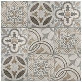 "Found it at AllModern - Ardisana 13.13"" x 13.13"" Ceramic Field Tile in Jet Mix"