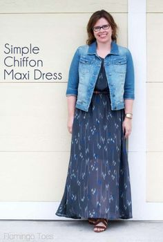 Simple Chiffon Maxi Dress shows you how to do the elastic waist on sheer lined fabric. I think this is exactly what I was looking for!