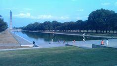 Reflection pool, Washington DC