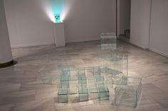 """Andrea Canepa y Alejandro Marote #Exposición """"Working glass"""" en el #MAVA Museo de Arte Contemporáneo en Vidrio de Alcorcón #Madrid #Arte #Art #ContemporaryArt #Arterecord 2018 https://twitter.com/arterecord"""