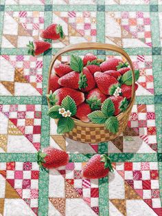 Rebecca Barker Strawberry Basket