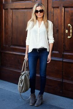 Simple and classic for a Friday or weekend
