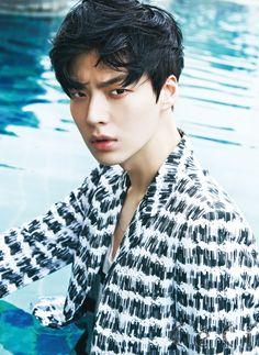 Ahn Jae Hyeon ph Kim Young Jun for Ceci Korea June 2015 Korean Face, Faces, Face