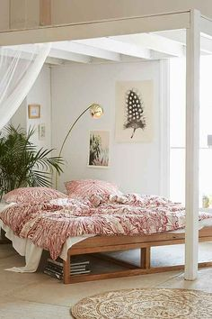 Border Storage Platform Bed Storage beds Urban outfitters and Beds