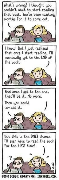 For the love of books. LOL