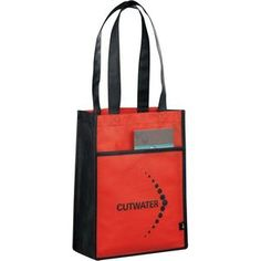19090c7f48 PolyPro Non-Woven Gift Tote - Open main compartment with front open pocket.  9