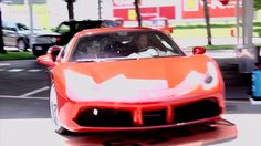 Get Ready For Rush Hour. Keanu Reeves Drives Ferrari's Latest Supercar at Test Track
