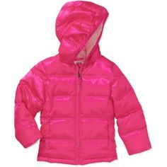 Healthtex Baby Toddler Girls' Bubble Jacket, Pink