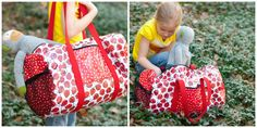 """""""Goin' to Camp"""" Duffel Bag Tutorial 