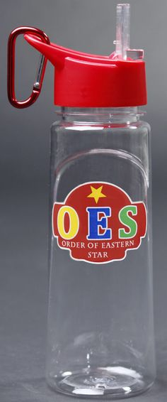 Order of the Eastern Star water bottle