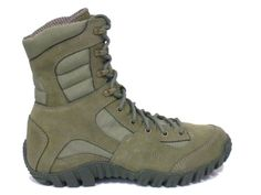 Belleville TR660- Khyber Sage Green Air Force ABU Lightweight Boot Features:  * Mountain Hybrid Boot  * Aggressive Lace-to-Toe- Style allows for a customized fit  * Deeply serrated heel kicker aids in braking and arresting a slide  * Rappelling bars extend wear of outsole  * Deeply serrated toe bumper aids in vertical climbing & crawling  * Exclusive vibram IBEX outsole