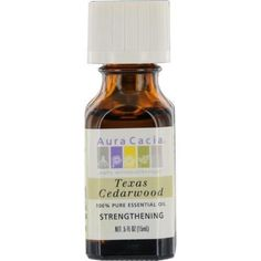 Essential Oils Aura Cacia Texas Cedarwood-essential Oil .5 Oz By Aura Cacia