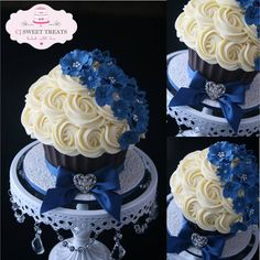 Giant cupcake - So Pretty!