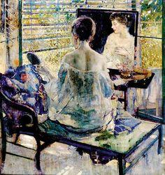The Athenaeum - Sunbath (Richard Edward Miller - 1924)