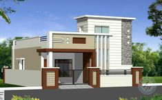 11 Things That You Never Expect On House Elevation Design Single Floor House Front Wall Design, Single Floor House Design, House Outside Design, Village House Design, Kerala House Design, Small House Design, Modern House Design, House Floor, 2bhk House Plan
