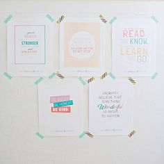 hello, wonderful. Free inspirational printables for kids bedrooms