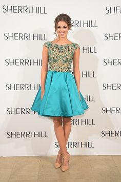 Sherri Hill Prom 2015 Collection Modeled by Sadie Robertson - Twist
