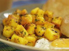 As Batatas com Cinco Especiarias e Puri do Chef Reza Mahammad vão fazer você pensar em ir para a Índia nas suas próximas férias.
