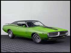 1971 Dodge Charger R/T  440/375 HP, Automatic  #Mecum #Kissimmee #WhereTheCarsAre