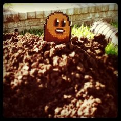 Diglett Garden Geekery by 8BitGeekery on Etsy, $8.00
