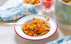 Saffron Barley With Black Eyed Peas 1