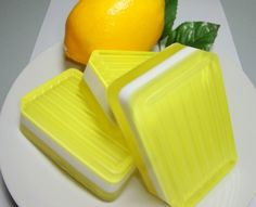 One bar of Coconut Lemongrass handmade extra large full size soap with a glycerin base, colorant and scent.