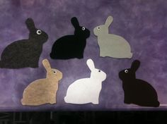 Tired Bunnies #flannelfriday #feltboard #flannelboard #storytime