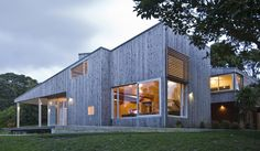 A Leigh house has won a national architecture award.