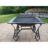 """Found it at Wayfair - Victoria 33"""" Fire Pit with Grill"""